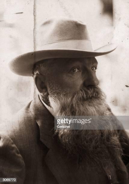 Sculptor Francois Auguste Rodin