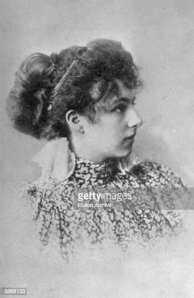 The dancer and World War I spy, Mata Hari born Gertrud Margarete Zelle.