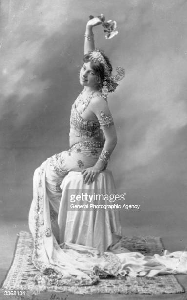 The dancer and World War I spy Mata Hari born Gertrud Margarete Zelle