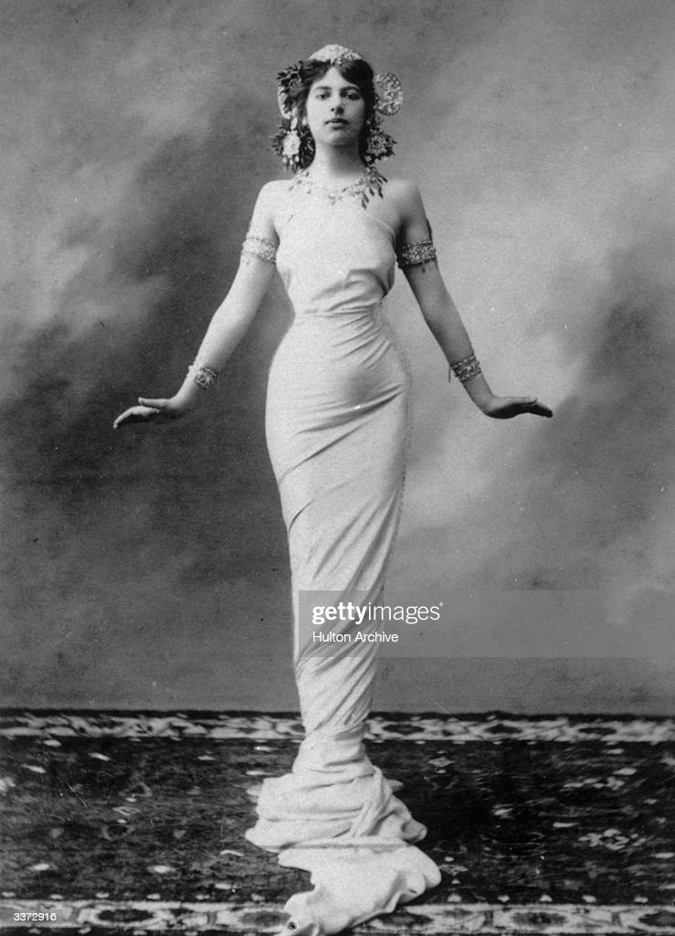 The dancer and World War I spy, Mata Hari (1876-1917) born Gertrud Margarete Zelle.