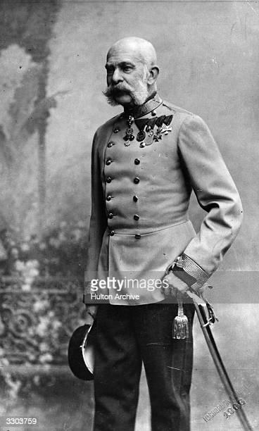 Franz Joseph King of Hungary and Emperor of Austria .