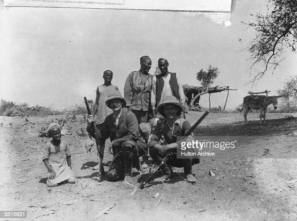 A hunting party in Africa