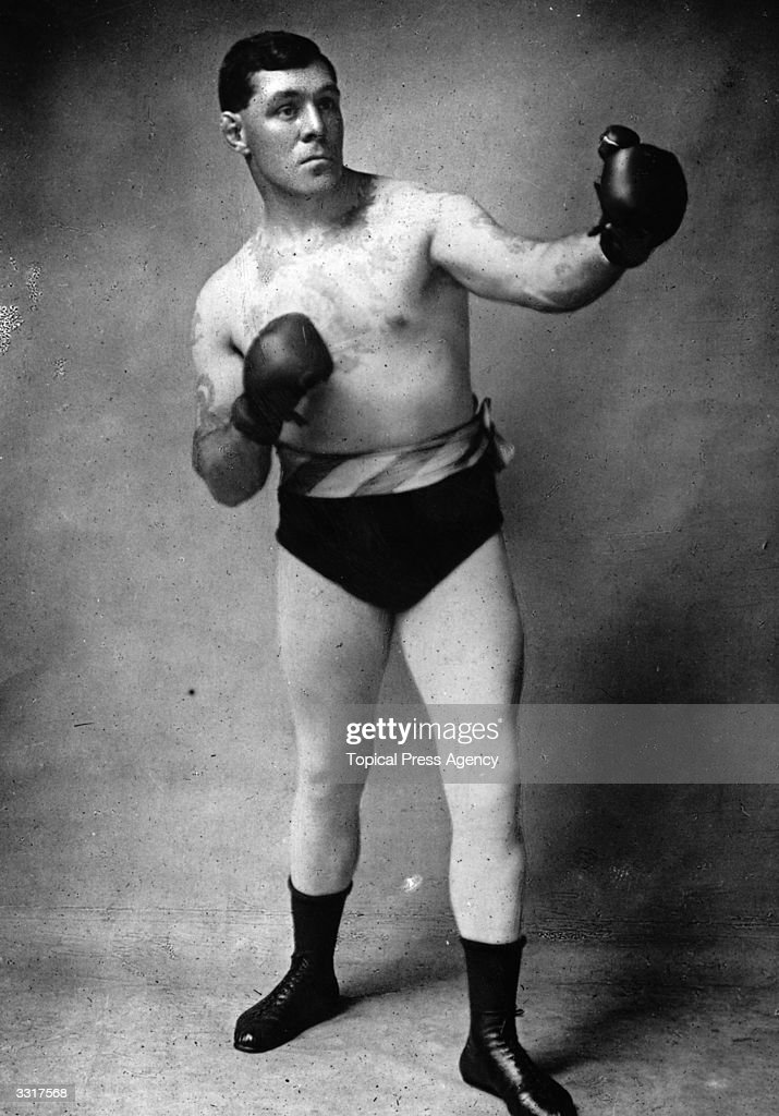 Gunner James Moir of Great Britain who won the British Heavyweight title from Jack Palmer in 1906, but lost to Tommy Burns in a fight for the World Title in 1907