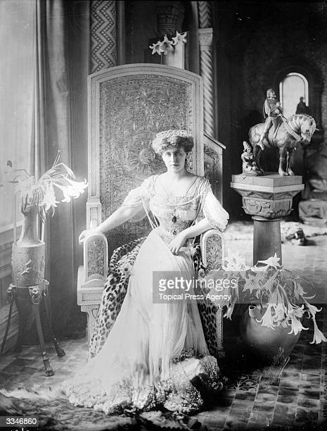 Marie , Queen of Romania. The daughter of Alfred, the Duke of Edinburgh , she married Prince Ferdinand of Romania in 1893.