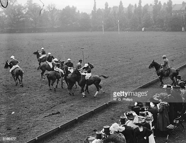 A polo match at Hurlingham