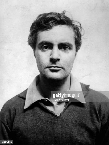 Amedeo Modigliani , Italian painter and sculptor.