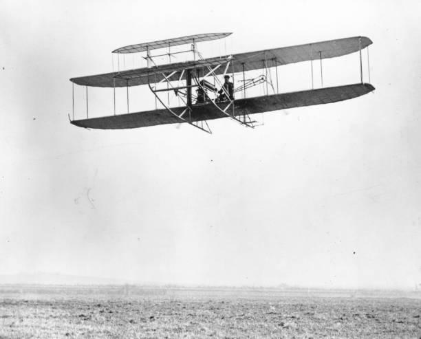 Biplane By Wright Wall Art