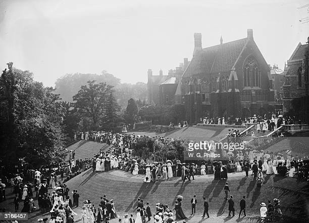 Speech Day at Harrow Public School in Greater London