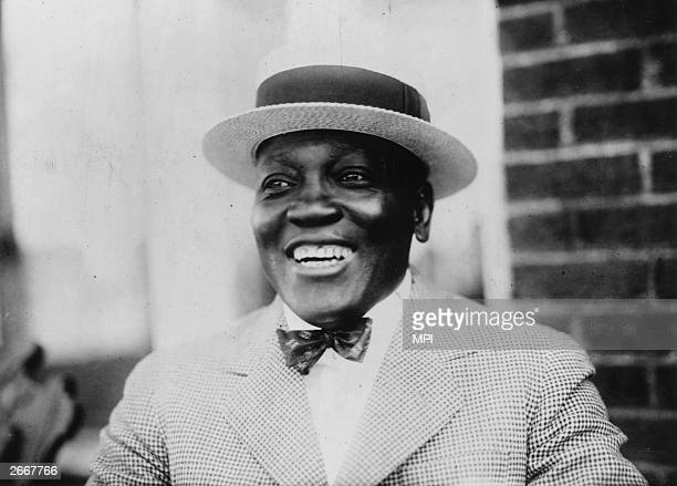 AfricanAmerican boxer Jack Johnson he became World Heavyweight Champion in 1908 and defeated a series of 'great white hopes' who challenged him