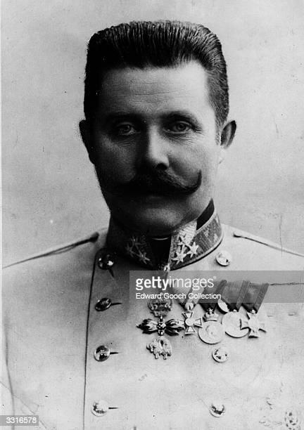 Archduke Karl Franz Ferdinand of Austria .