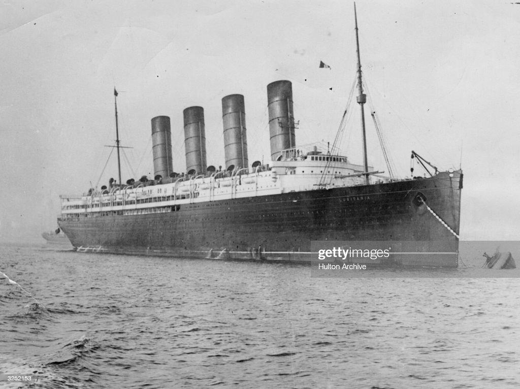 The Lusitania : News Photo