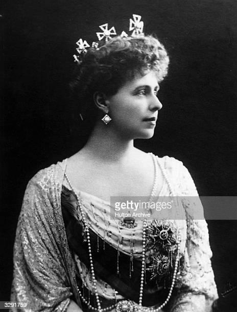 Crown Princess Marie of Romania, wife of the future King Ferdinand of Romania.