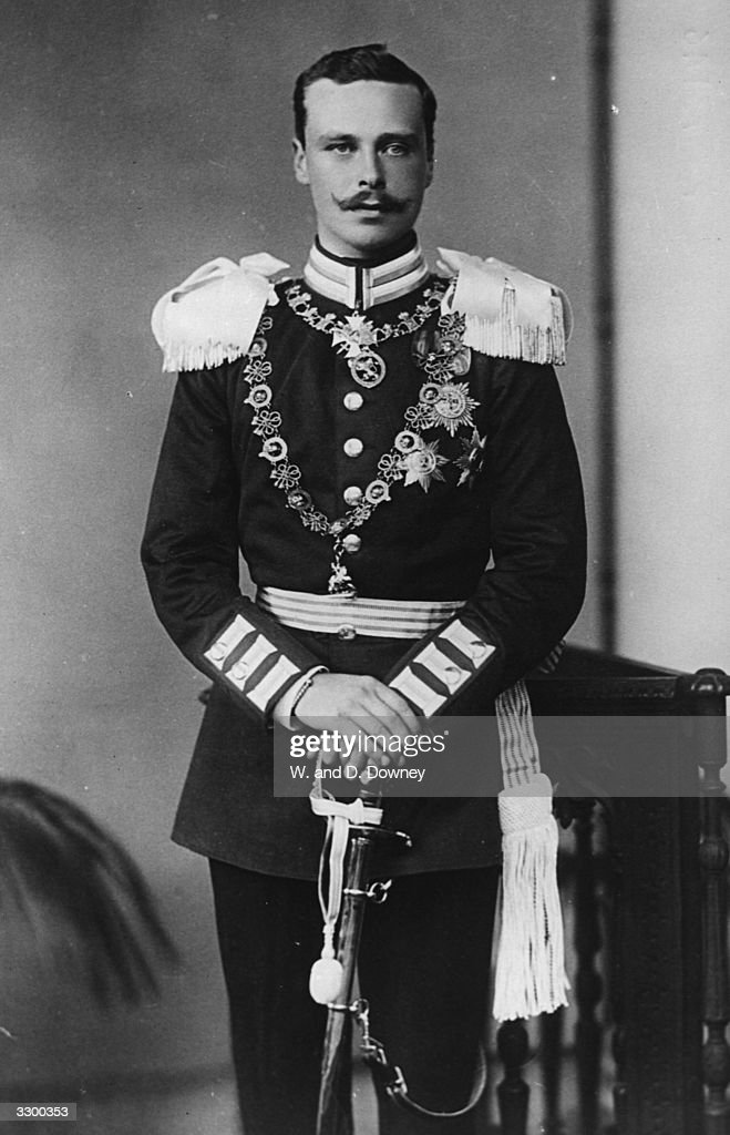 Ernst Ludwig Hesse Darmstadt (1868 - 1937) Grand Duke of Hesse and son of Ludwig IV, married Princess Victoria, the 2nd daughter of the Duke of Edinburgh, in 1894.