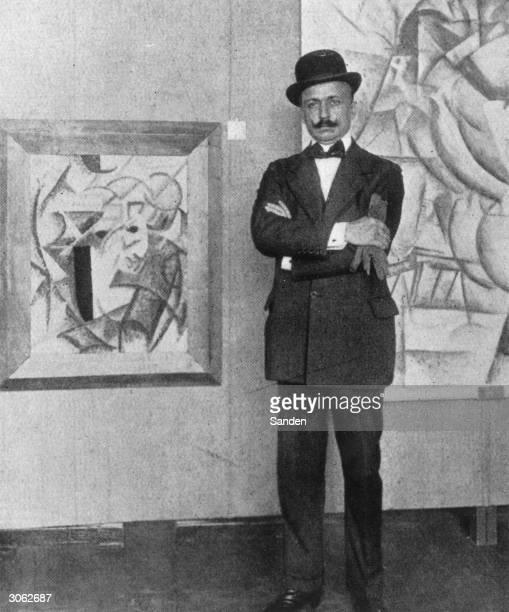 Filippo Tommaso Marinetti Italian author and initiator of Futurism