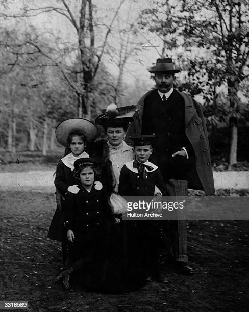Franz Ferdinand, Archduke of Austria, his wife Sophie and children.
