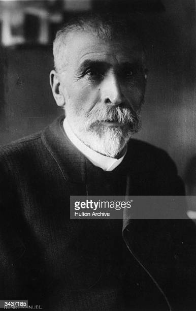 French bacteriologist Dr Pierre Paul Emile Roux assistant and successor to Louis Pasteur and codiscoverer of an antitoxic treatment of diphtheria...