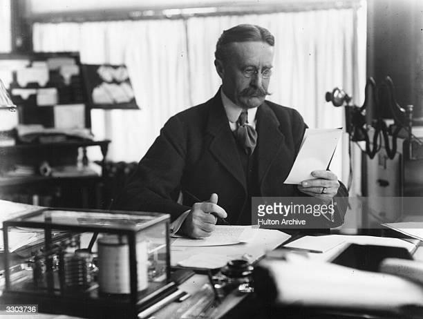 Harry Gordon Selfridge, Anglo-American industrialist and founder of Selfridges Store.
