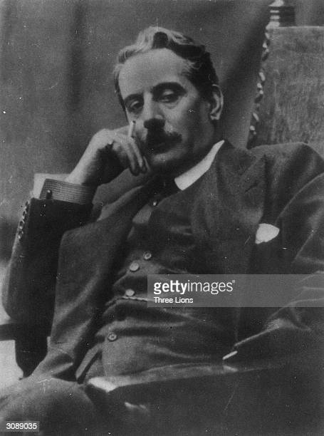 Italian composer Giacomo Puccini Famous for operas among which are Manon Lescaut La BohemeTosca and Madame Butterfly