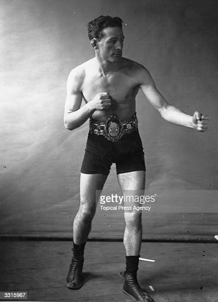 Jim Driscoll of Wales who held onto the Lonsdale Belt after three victories in the Featherweight division in 1910 He also won the European title in...