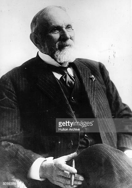 Karl Friedrich Georg Spitteler the Swiss poet and novelist, awarded the Nobel prize for Literature in 1919.