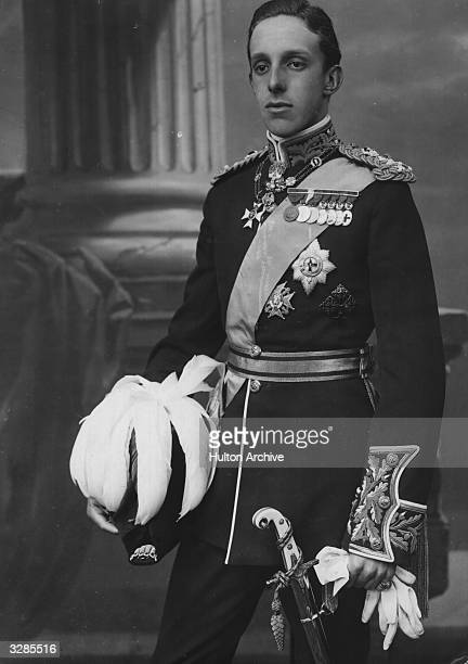 King Alfonso XIII of Spain in full dress uniform.