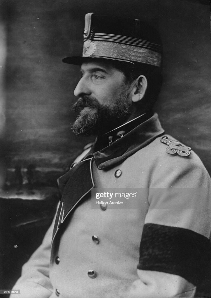 King Ferdinand I of Romania (1865 - 1927).