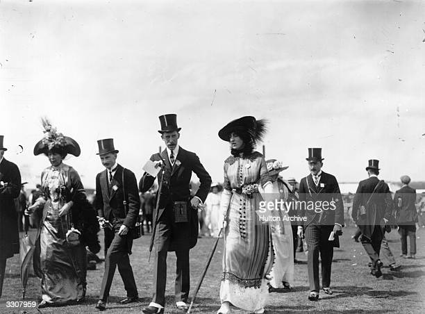 Lord Lascelles, the Earl of Harewood , with the Honourable Victoria Sackville-West.