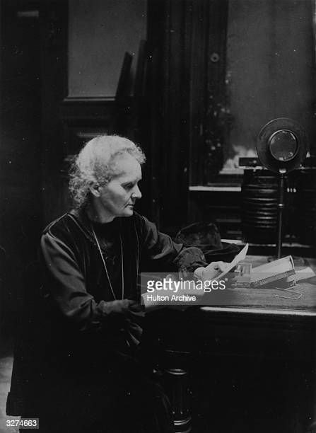 Marie Curie originally Manya the PolishFrench scientist who discovered radium for which she was awarded the Nobel prize for chemistry in 1911