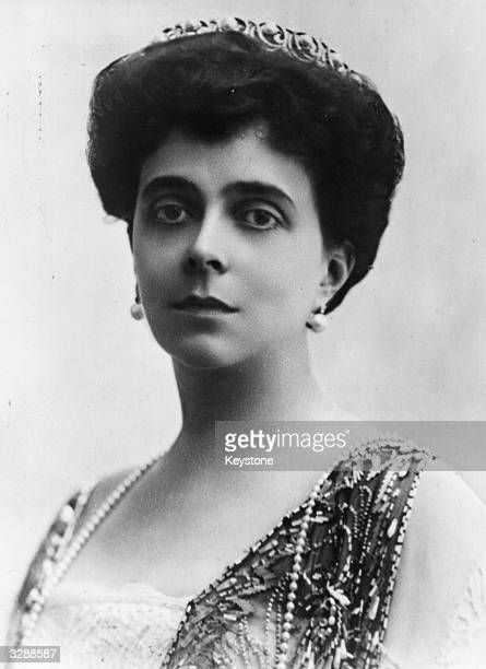 Princess Nicholas of Greece nee Grand Duchess Helen of Russia the wife of Prince Nicholas of Greece
