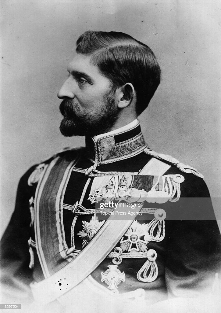 The Crown Prince of Romania, who became King Ferdinand I of Romania (1865 - 1927) in 1914.