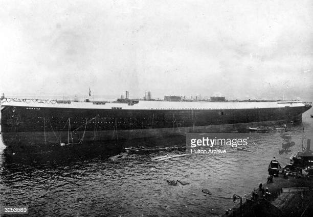 The Imperator, a ship bigger than the Titanic, has been launched by Kaiser Wilhelm II. It is the largest ship in the world.