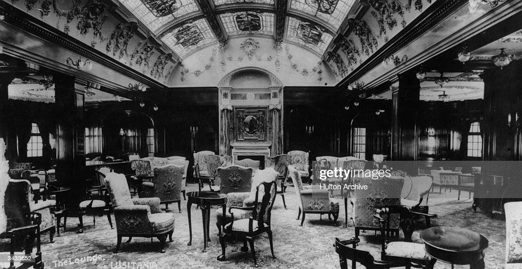 Lusitania Lounge : News Photo