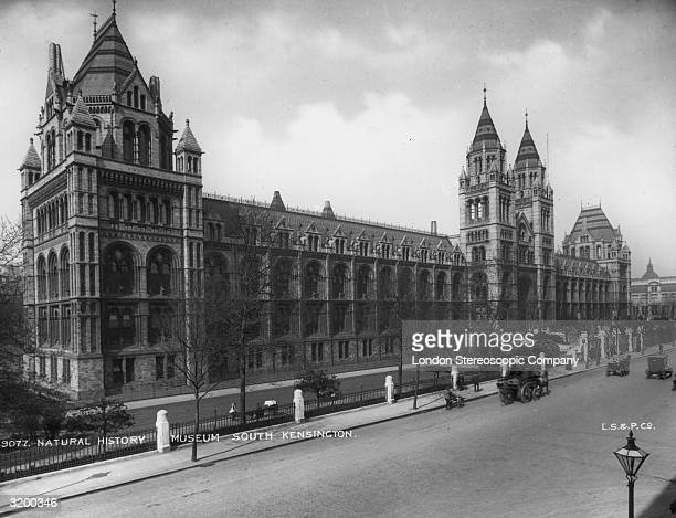 The Natural History Museum in South Kensington London