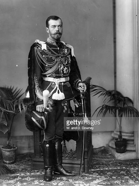Tsar Nicholas II of Russia who was shot with his entire family by the Red Guards at Yekaterinburg.