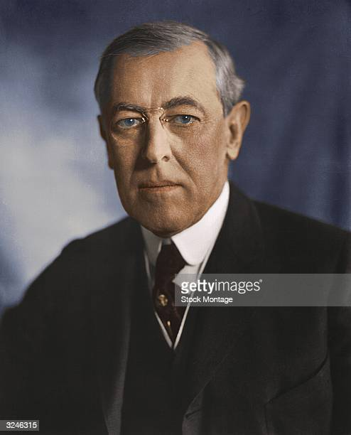 Woodrow Wilson twentyeighth president of the United States of America
