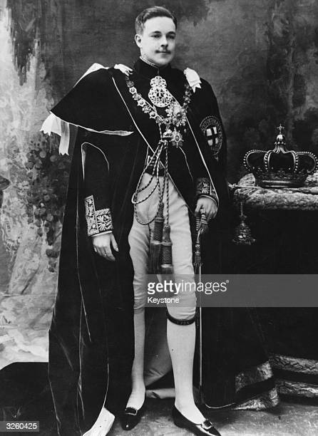 King Manoel II Of Portugal second son of King Carlos I he became king when his father and elder brother were assassinated in 1908 He was made a...