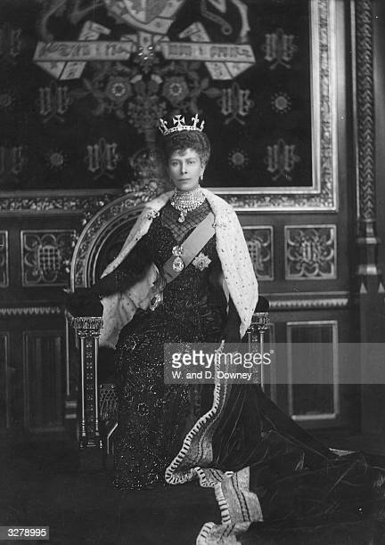 Mary of Teck formerly Princess Victoria Mary Pauline Claudine Agnes of Teck who married Prince George in 1893 to become Queen Mary in 1910 She is...