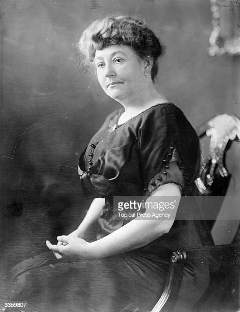 Mrs Ellen Wilson the first wife of the 28th American President Woodrow Wilson