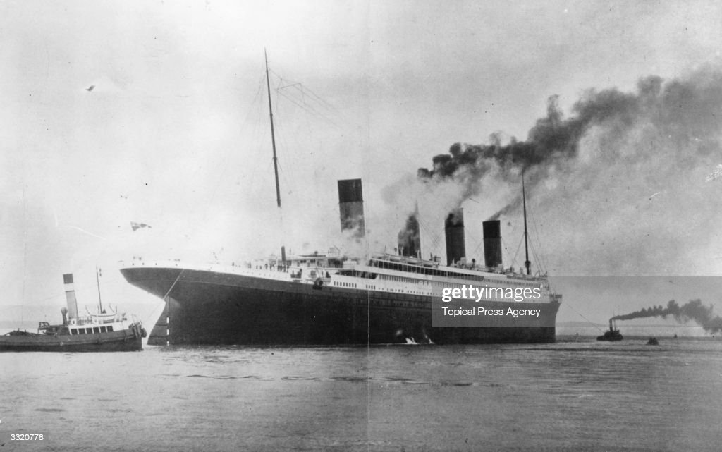 The Titanic : News Photo