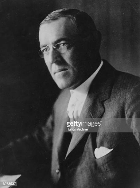 Woodrow Wilson the 28th President of the United States