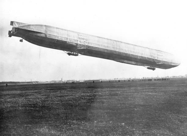 Zeppelin Ascending Wall Art