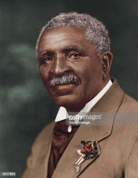 American botanist George Washington Carver director of the Agriculture Department of the Tuskegee Institute