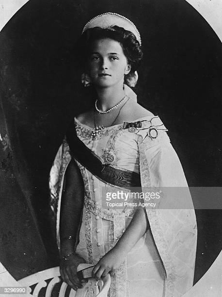 Grand Duchess Olga daughter of Tsar Nicholas II