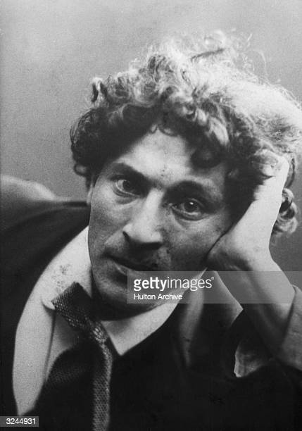 Portrait of Russianborn artist Marc Chagall as a young man