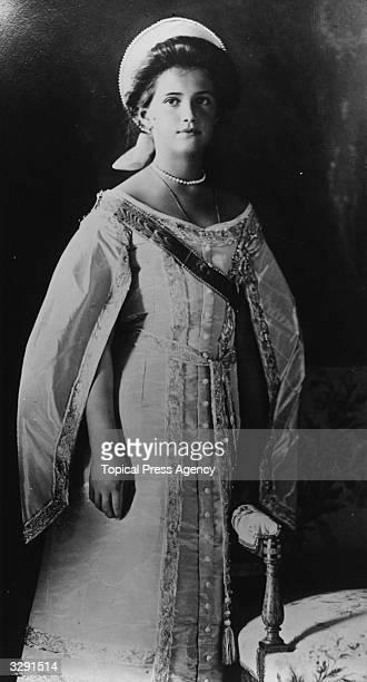 The Grand Duchess Marie daughter of Tsar Nicholas II