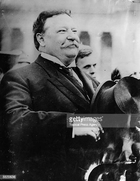 William Howard Taft the former President of the United States of America