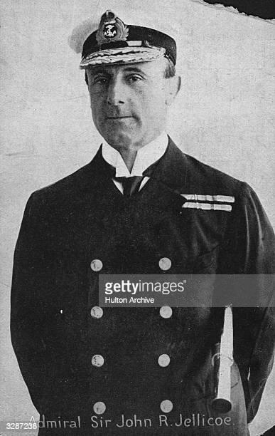 British Admiral John Rushworth Jellicoe 1st Earl Jellicoe