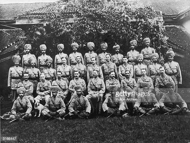 Members of the 117 Maratha serving the Raj during the First World War
