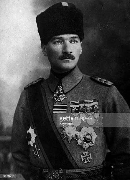 Mustafa Kemal Ataturk Turkish general nationalist leader and president