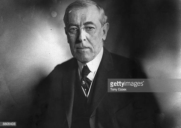 The 28th President of the United States Woodrow Wilson